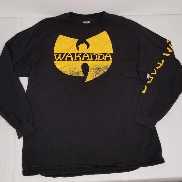Wakanda wu tang marvel long sleeve